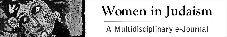 Women in Judaism: A Multidisciplinary e-Journal